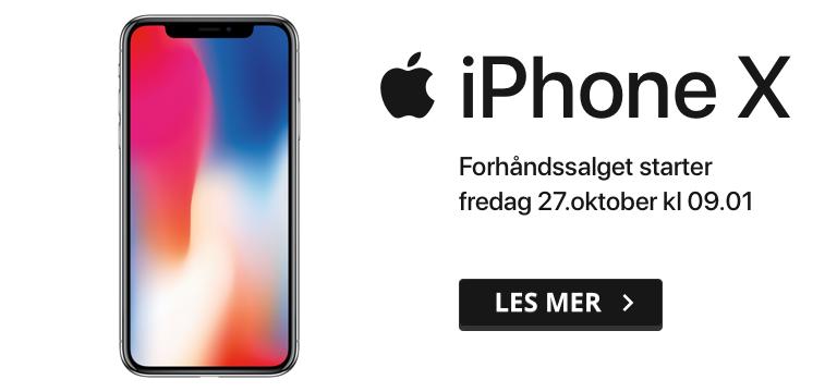 Forhåndskjøp iPhone 8